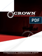 Crown Instrumentation Product Brochure