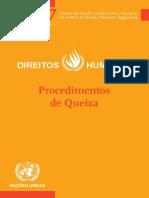 Direitos Humanos_Procedimentos de Queixa