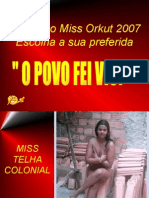 Concurso Miss Orkut 2007