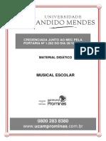 Mod5 - Noções Básicas de Educação Musical Escolar