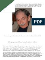 Uruguay Estuvo 36 Horas Bajo El Mando de EEUU