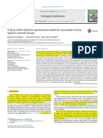 A Fuzzy Multi-objective Optimization Model for Sustainable Reverse Logistics Network Design
