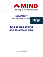 MINDBill End-To-End Billing and Customer Care