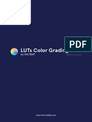 About - LUTs Color Grading Pack by IWLTBAP (Free) | Adobe Systems