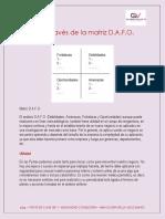 Análisis a Través de La Matriz DOFA