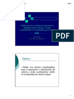 Presentacion Cafeina - AAS PorTLC