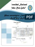 Plan Estratégico- Paper Ejecutivo