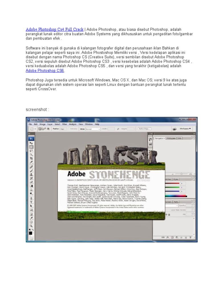 Adobe Photoshop Cs4 Full Crack docx   Adobe Photoshop