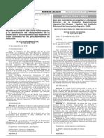 Modifican la R.M N° 298-2015-PCM respecto a la aprobación del otorgamiento de la buena pro a las propuestas que superen el valor estimado en los procedimientos de selección