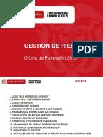 DAPRE Gestion Riesgos SIGEPRE2013
