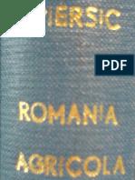 Dr. Ştefan Piersic - România agricolă şi imperialismul economic al ţărilor industriale