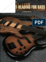 Simplified Sight-Reading for Bass - Josquin Des Pres - Standard Notation