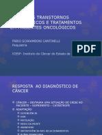 Principais Transtornos Psiquiátricos e Tratamentos Em Onco