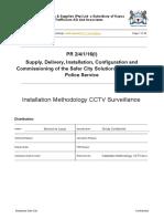Installation Methodology CCTV