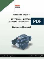 Motoare in 4 timpi (Loncin Single Cylinder Vertica)