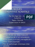 Cas Cliniques Dasphyxie Nonatale