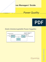 Static Uninterruptable Power Supplies