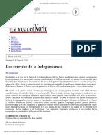 Los corridos de la Independencia _ La Voz del Norte.pdf