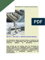 Sistema de Ar Condicionado Vrf x Central de Água Gelada