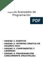 Tópicos Avanzados de Programación