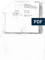 65 - Problemas Fundamentales de La Teoria Sociologica (Cap. 5 El Marco de Referencia de La Accion) - REX, John