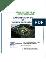 Arquictectura de Un Microprocesador