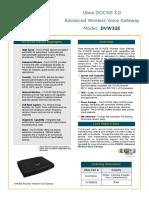 DVW32E Data Sheet