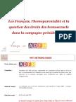 Sondage IFOP sur la loi Taubira, la PMA et la GPA, révélé par franceinfo et Le Monde le 14 septembre 2016