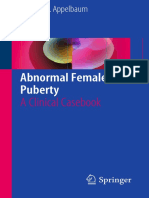 Abnormal Female Puberty 2016