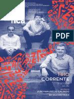 Programa de Sala | Jazz Sinfônica convida Trio Corrente