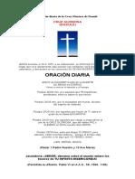 Oración Diaria de La Cruz Gloriosa de Dozulé