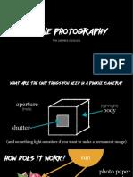 Introduction to Pinhole Cameras