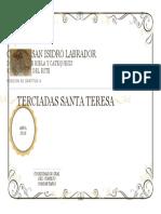 Certificado de Gratitud