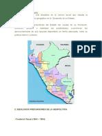 Geopolítica Del Perú 1