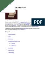 MDF board