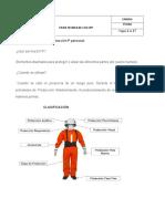 Ficha Técnica de Los EPP