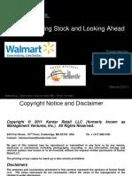 DBB Walmart Results