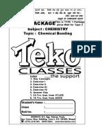 Chemical Bonding Type 1