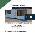 Memoria Especificaciones Tecnicas 32 5 San Juan Bautista EYT