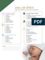 Checklist Trousseau Bebe