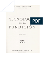 Tecnologia de La Fundicion-Capello