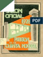 Catálogo Salón Oficial 1928