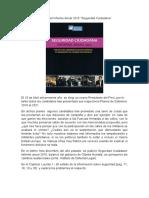 Análisis Del Informe Anual 2015-Seguridad Ciudadana