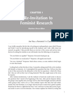 A Re-Invitation to Feminist Research