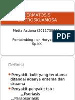 DERMATOSIS- ERITROSKUAMOSA