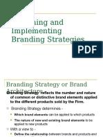Branding Startegies