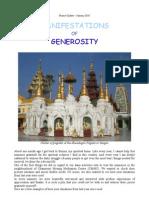 08 Manifestations of Generosity, Burma Update (Jan 10)