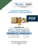 2° ENTREGA PROYECTO GESTION DE INVENTARIOS Y ALMACENAMIENTO oscar