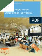 MSc Brochure Wageningen