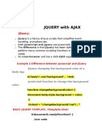 Jquery With Ajax